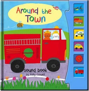 Around the Town - Sound Book (Hardback) Sign in to write a review