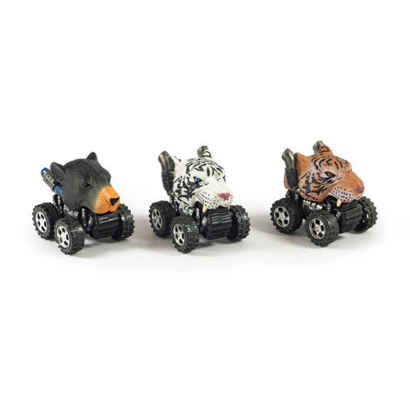 WILD ANIMAL CAR ASSORTMENT SMALL