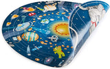 Hape E1625 Solar System Puzzle - Includes LED Sun, Planet Discs and Poster Age 5+