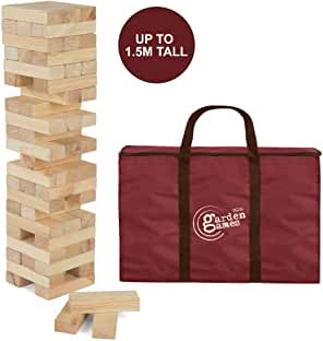 Toyrific garden games Giant Stack n Fall 1.5 metres tall (Jenga)