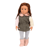 Our Generation Fun Fur Fall Dolls Outfit