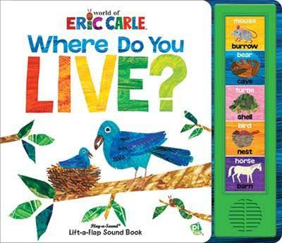 Eric carle where do we live