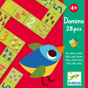 One, Two, Three Domino by Djeco - DJ08168