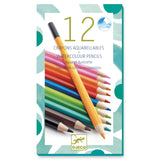 Djeco Watercolour Pencils Classic - DJ08824