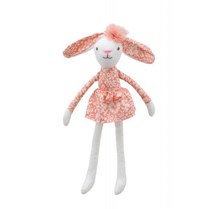Hare (Orange Dress) - Wilberry Linen Soft Toy