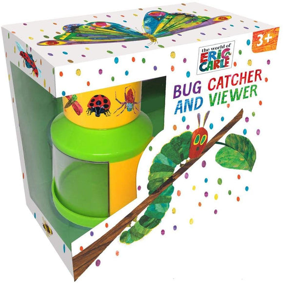 Eric Carle Robert Frederick Hungry Caterpillar minibeast Bug Catcher and viewer for Kids and Garden