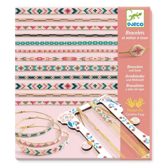 Djeco Bracelets and Loom - Tiny Beads - DJ09838