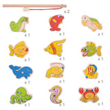 Wooden Fishing Game Age 3+