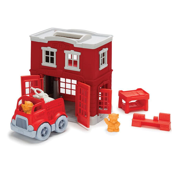 Green Toys Fire Station