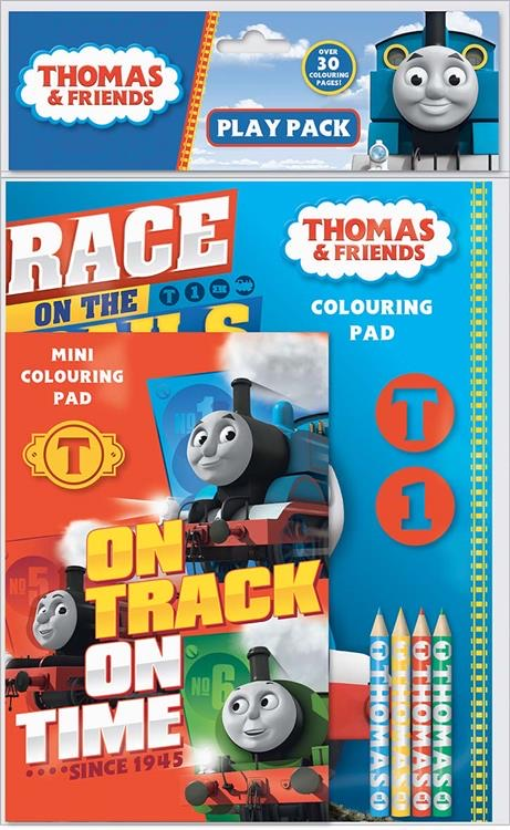 Thomas The Tank Engine & Friends Colouring Pad set