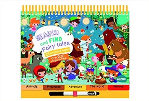 Fairy Tales (Things to Spot) (Search & Find) (French) Spiral-bound