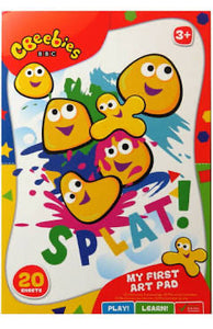 CBeebies My First Art Pad