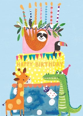 Birthday card by Paper Salad GIRL (HOOPLA range)