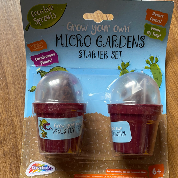 Grow Your Own Micro Gardens Starter Set