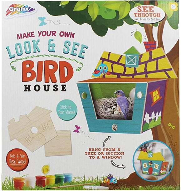 Make your own look & see Bird House