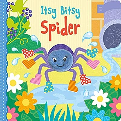 Incy Wincy Spider Finger Puppet Board book –  That (Author), Jenny Cooper