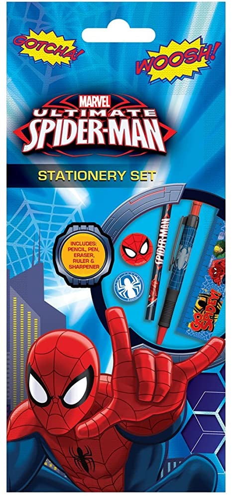 Spider-Man Stationary Set