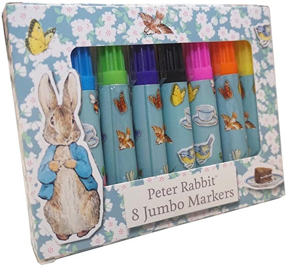 Peter Rabbit 8 Jumbo Markers