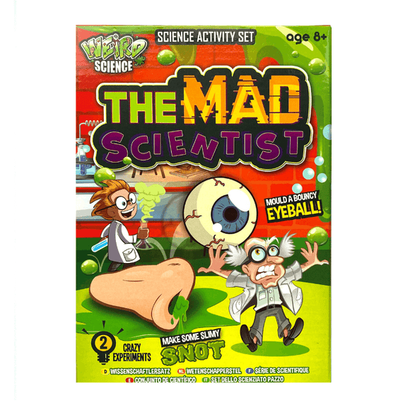 Weird Science- Mini Mad Scientist Set (8+)