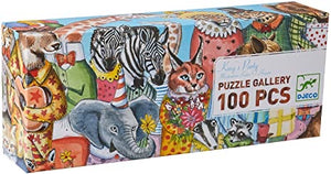 DJ07639 100 pcs King Party Puzzle Gallery by Djeco 5+
