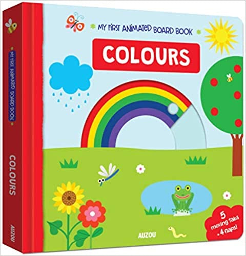 Colours (My First Animated Board Book) (French) Board book