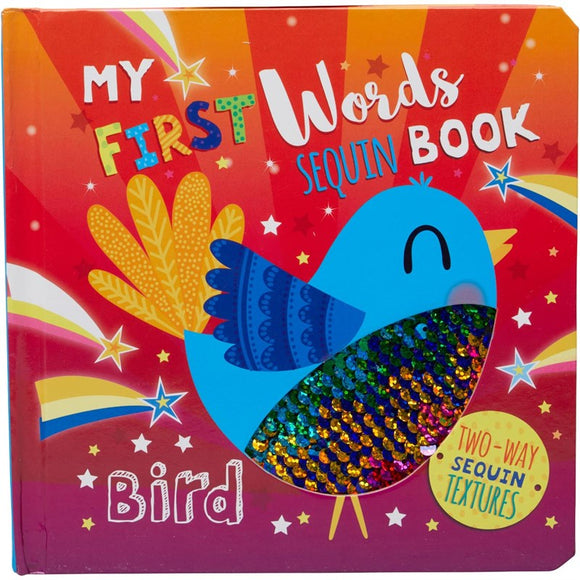 MY FIRST FIRST WORDS SEQUIN BOOK