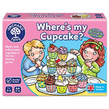 Orchard Toys Where's My Cupcake Game (3-6 Years)