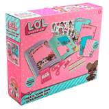 L.O.L. Surprise ! Create Your Own Scrapbook Kit Arts Craft Accessories for Kids Lol Dolls Scrapbooking for Girls