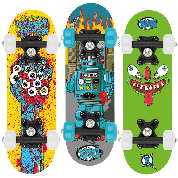 Xootz Childs Mini Skateboard - 17 Inch
