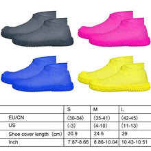 Load image into Gallery viewer, Waterproof Rain Unisex Shoe Cover Silicone