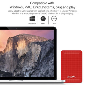 External Hard Drive Disk USB3.0 HDD From 120GB to 2TB for PC, Mac, Tablet,  Xbox,  PS4, TV box
