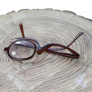 Magnifying Rotating Makeup Reading Glasses From +1.0 to +4.0