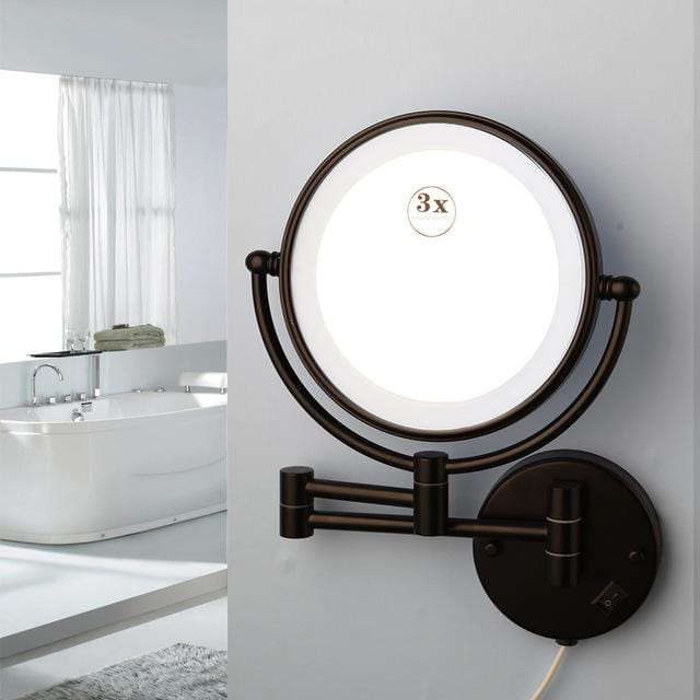 Makeup Mirrors LED Wall Mounted Double Side