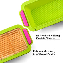 Load image into Gallery viewer, Silicone Cake Mold Round & Rectangular Shapes