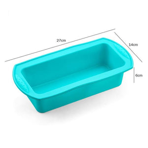 Silicone Cake Mold Round & Rectangular Shapes