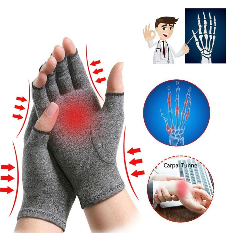 1 Pair Adult Rheumatoid Arthritis Compression Hand Glove