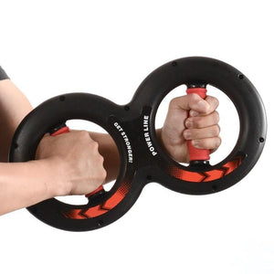 Hand Gripper Strengths 8 Shape Power Arms Multi Gym