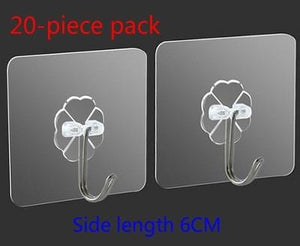 Strong Transparent Self Adhesive Sucker Wall Hooks