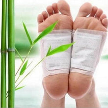 Load image into Gallery viewer, 10 Tablets Detox Foot Patch Set Bamboo Vinegar Essence