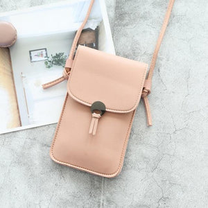 Women Touch Screen Mobile Phone Shoulder Bag