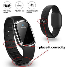 Load image into Gallery viewer, Ultrasonic Mosquito Repellent Bracelet