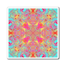 Load image into Gallery viewer, Keeshasaurus Collection: Psychedelic Mandala Magnets
