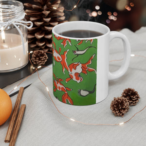 Oly Carlson Collection: Ceramic Mug 11oz