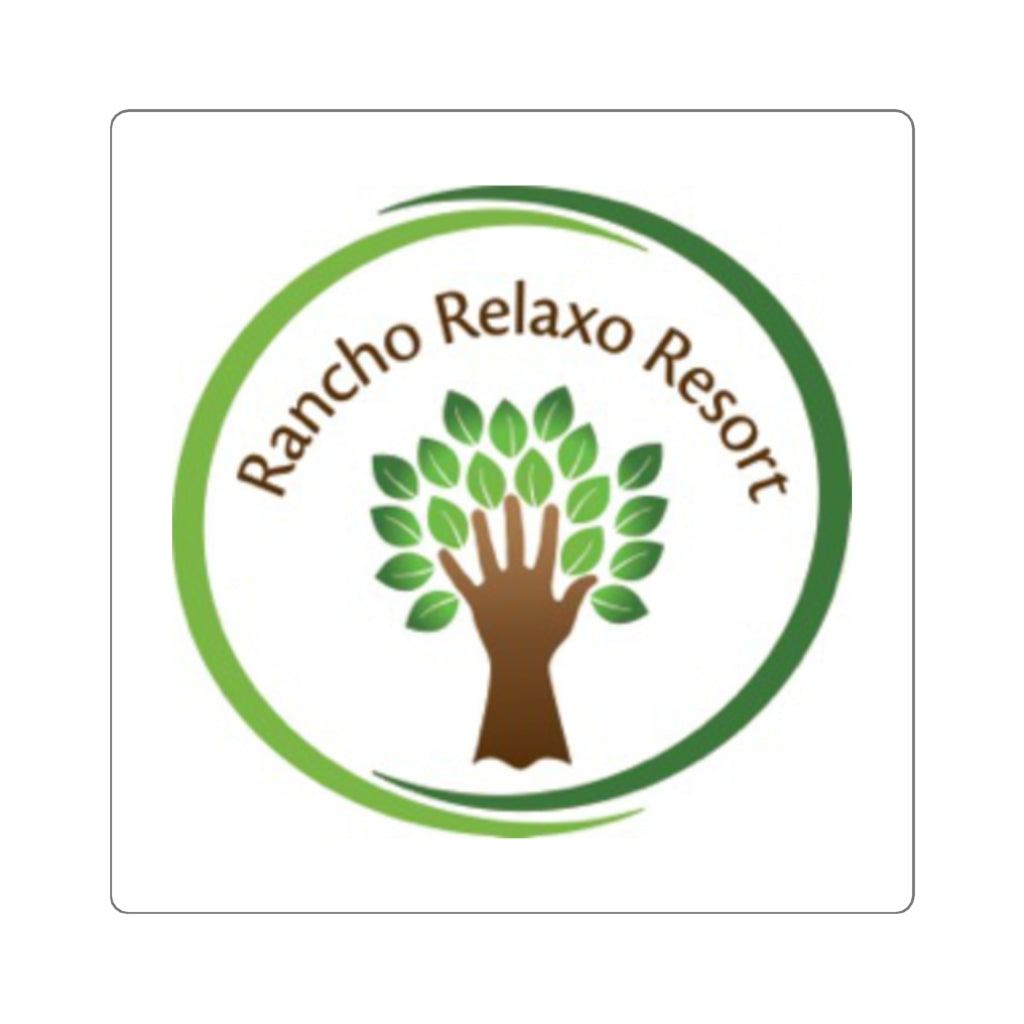 Rancho Relaxo Resort Collection: Square Stickers