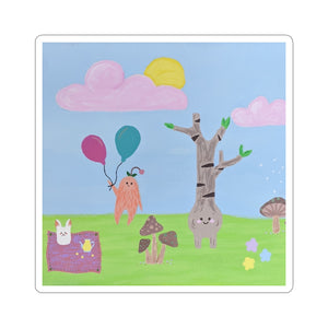 Drucilla Dunn Collection: Critter Land Stickers