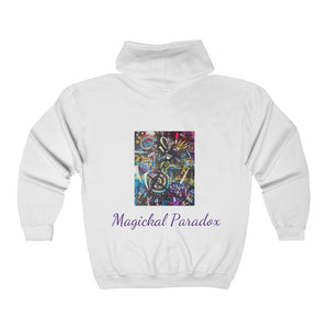 Magickal Paradox Collection: Zip Hooded Sweatshirt