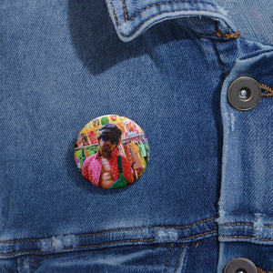 J-dizzle Collection: Custom Pin Buttons