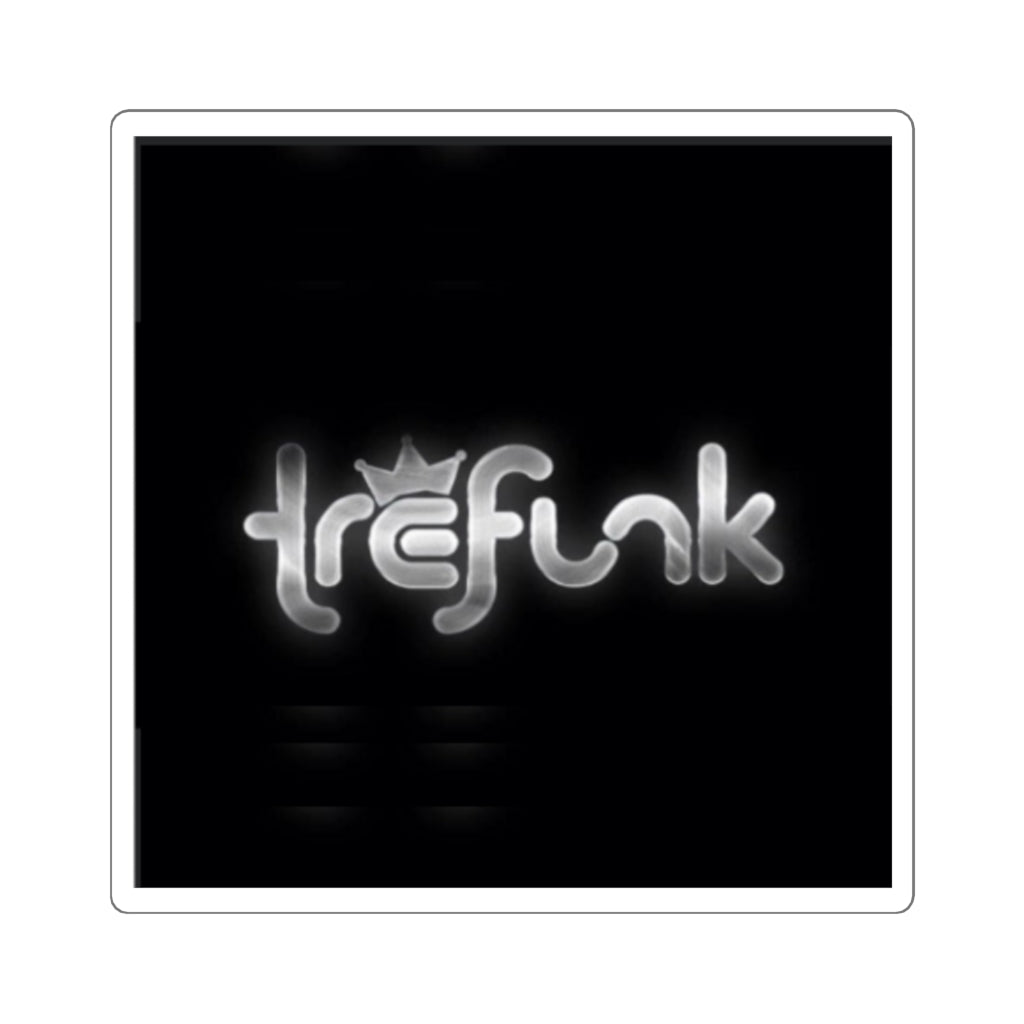 Tre Funk Collection: Square Stickers