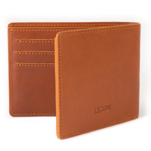 Load image into Gallery viewer, Cognac Classic Card Wallet