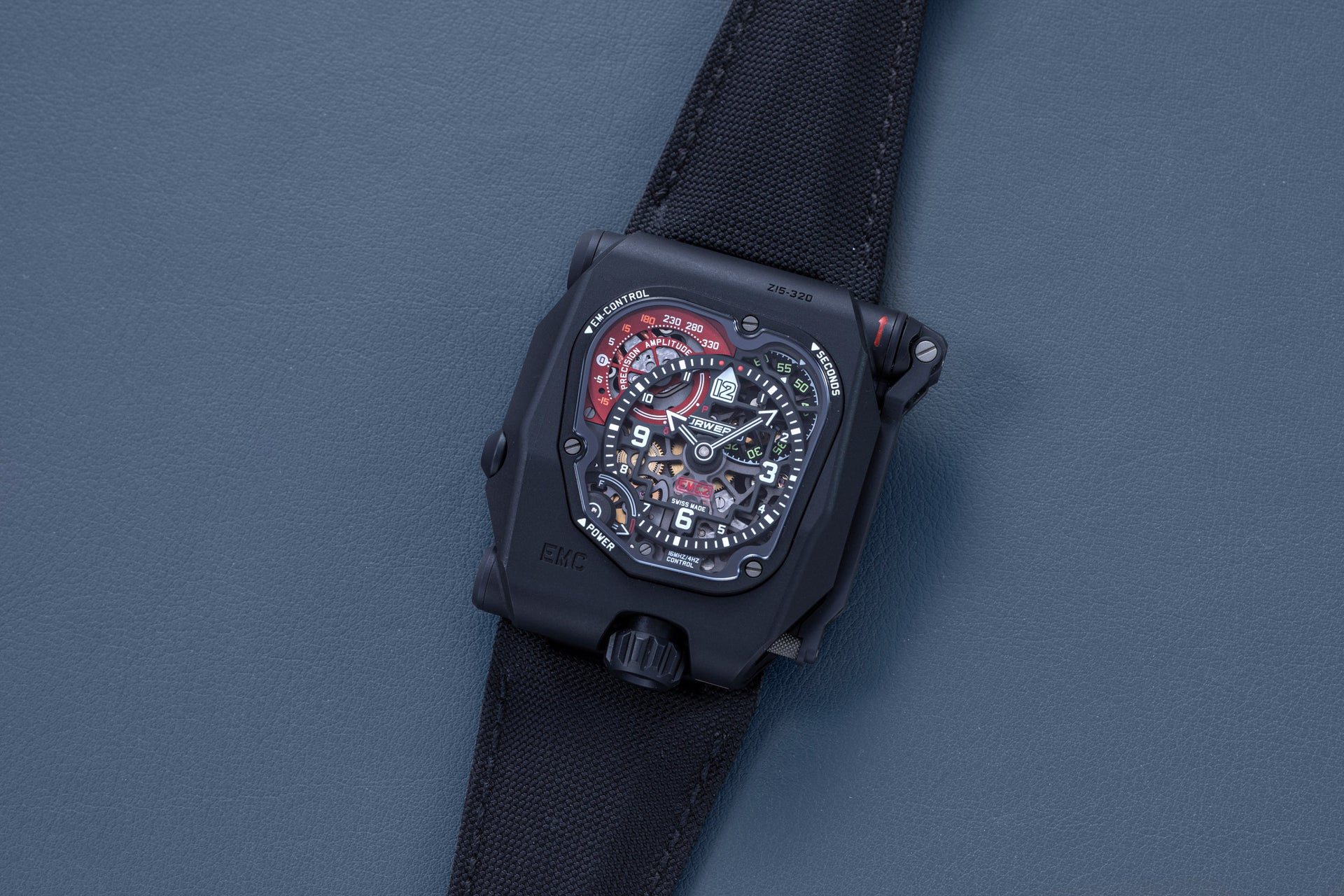 Urwerk EMC Time Hunter X-Ray